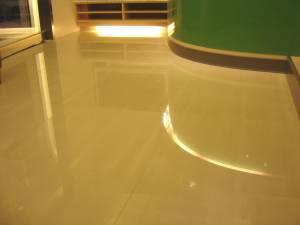 牙醫診所拋光石英磚地板